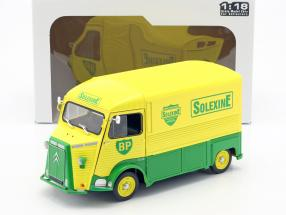Citroen Type H BP Solexine year 1969 yellow / green 1:18 Solido