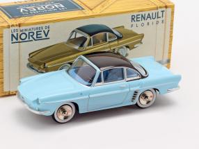 Renault Floride year 1959 narvik blue / black 1:43 Norev
