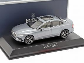 Volvo S60 year 2018 osmium grey 1:43 Norev