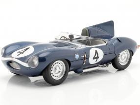 Jaguar D-Type #4 Winner 24h LeMans 1956 Sanderson, Flockhart 1:18 CMR