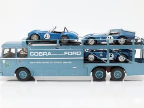 Fiat Bartoletti 306/2 Shelby Cobra Race transporter Alan Mann Racing Ltd