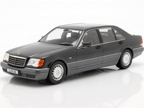 Mercedes-Benz S500 (W140) year 1994-98 dark gray metallic / grey 1:18 iScale