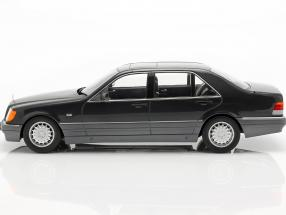 Mercedes-Benz S500 (W140) year 1994-98 dark gray metallic / grey
