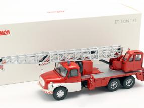 Tatra T148 crane vehicle fire department red / white 1:43 Schuco