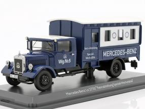 Mercedes-Benz Lo 2750 Rennabteilung Specialized workshops 1:43 Schuco