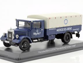 Mercedes-Benz Lo 2750 Rennabteilung transport van 1:43 Schuco