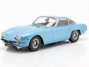 Lamborghini 400 GT 2 5 Baujahr 1965 light blue metallic 1:18 KK-Scale