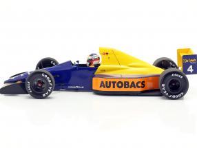 Jean Alesi Tyrrell 018 #4 japanese GP formula 1 1989