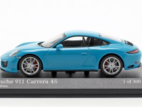Porsche 911 (991 II) Carrera 4S year 2016 miami blue