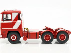 Scania LBT 141 Tractor year 1976 red / white