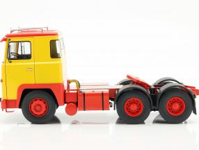 Scania LBT 141 Tractor year 1976 yellow / red