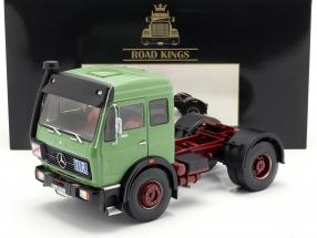Mercedes-Benz NG 1632 Tractor year 1973 green 1:18 Road Kings