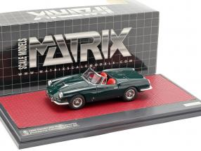 Ferrari 400 Superamericana Pininfarina Cabriolet open Top 1959 green 1:43 Matrix