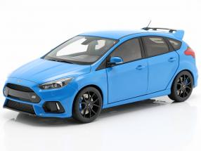 Ford Focus RS year 2016 nitrous blue 1:18 AUTOart