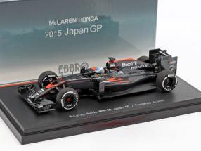 Fernando Alonso McLaren MP4-30 #14 Japan GP formula 1 2015 1:43 Ebbro