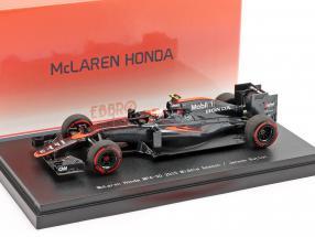 Jenson Button McLaren MP4-30 #22 Middle Season formula 1 2015 1:43 Ebbro