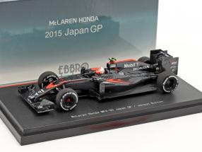Jenson Button McLaren MP4-30 #22 Japan GP formula 1 2015 1:43 Ebbro