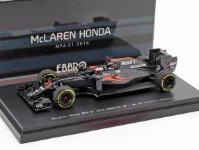 Stoffel Vandoorne McLaren MP4-31 #47 bahrain GP formula 1 2016 1:43 Ebbro