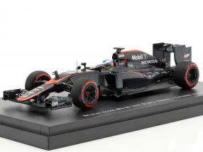 Fernando Alonso McLaren MP4-30 #14 Middle Season formula 1 2015 1:43 Ebbro