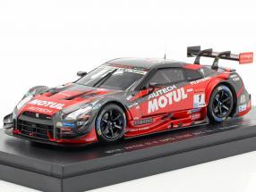 Nissan GT-R #1 champion Super GT500 Series Race 1 Okayama 2015 1:43 Ebbro