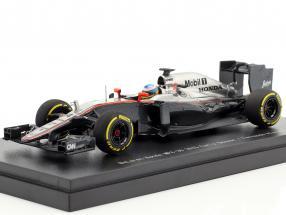 Fernando Alonso McLaren MP4-30 #14 Early Season formula 1 2015 1:43 Ebbro
