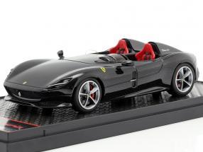 Ferrari Monza SP2 Motor Show Paris 2018 Daytona black 1:43 BBR