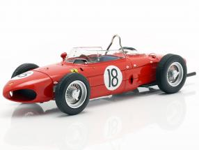 Richie Ginther Ferrari Dino 156 Sharknose #18 French GP F1 1961 1:18 CMR