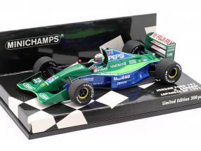 Alessandro Zanardi Jordan 191 #32 japanese GP formula 1 1991 1:43 Minichamps