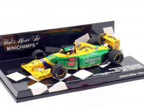 M. Alboreto Benetton B193B F1 Testing Barcelona December 1993 1:43 Minichamps