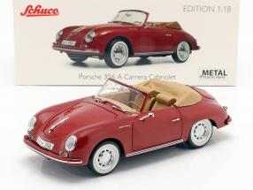 Porsche 356A Carrera Cabriolet ruby red 1:18 Schuco