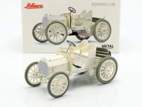 Mercedes 35 HP year 1901 white 1:18 Schuco