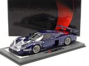 Maserati MC12 Competizione Genevan Motor Show 2004 blue metallic With Showcase 1:18 BBR