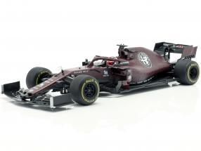 Kimi Räikkönen Alfa Romeo Racing C38 Fiorano Shakedown F1 2019 1:18 Spark