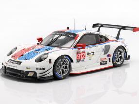 Porsche 911 RSR #912 3rd GTLM Class 24h Daytona 2019 Porsche GT Team 1:18 Spark