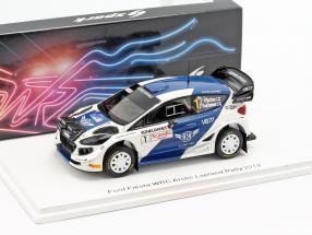 Ford Fiesta WRC #1 Arctic Lapland Rallye 2019 Bottas, Rautiainen 1:43 Spark