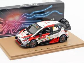 Toyota Yaris WRC #8 Winner Rallye Portugal 2019 Tänak, Järveoja 1:43 Spark