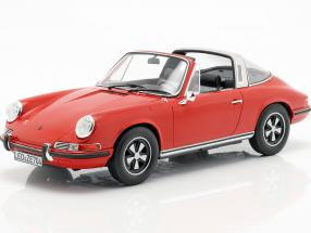 Porsche 911 T Targa year 1971 red 1:18 Norev