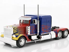 Western Star Transformers T1 Optimus Prime blue with flames 1:24 Jada Toys