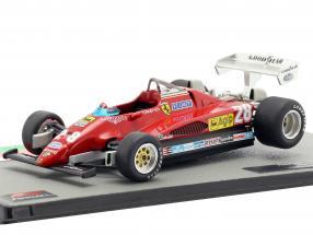 Mario Andretti Ferrari 126C2 #28 3rd italian GP formula 1 1982 1:43 Altaya