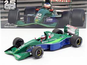 M. Schumacher Jordan 191 #32 Free Practice Belgian GP F1 1991 1:18 Minichamps