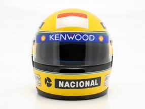 Ayrton Senna McLaren MP4/8 #8 formula 1 1993 helmet 1:2