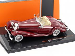 Mercedes-Benz 540K Special Roadster (W29) year 1936 dark red 1:43 Ixo