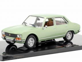 Peugeot 504 year 1969 green metallic 1:43 Ixo
