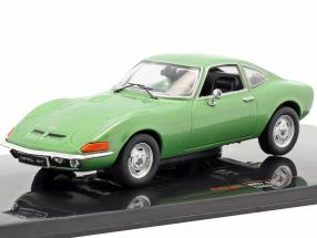 Opel GT year 1969 green metallic 1:43 Ixo
