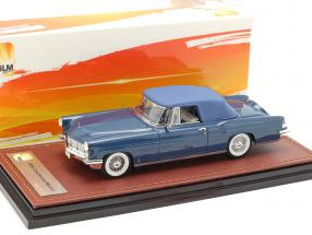 Lincoln Continental MK II Closed Top year 1956 blue 1:43 GLM