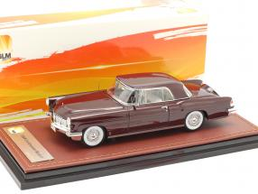 Lincoln Continental MK II year 1956 maroon 1:43 GLM