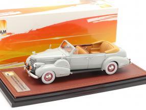 Cadillac V16 Series 90 Fleetwood Sedan Open Top year 1938 grey 1:43 GLM