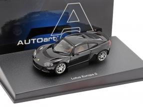Lotus Europa S year 2006 black 1:43 AUTOart