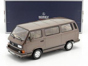 Volkswagen VW Multivan year 1990 bronze metallic 1:18 Norev
