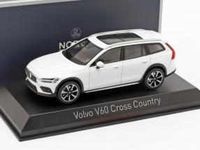 Volvo V60 Cross Country year 2019 crystal white 1:43 Norev